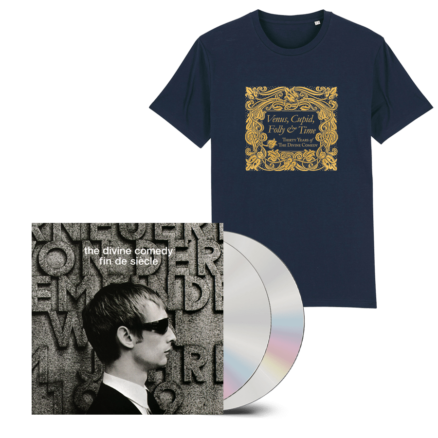 Buy Online The Divine Comedy - Fin De Siecle 2CD (Remastered) + T-Shirt