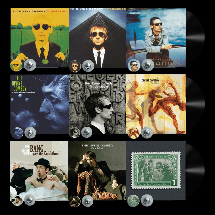 Buy Online The Divine Comedy - Ultimate Vinyl Bundle