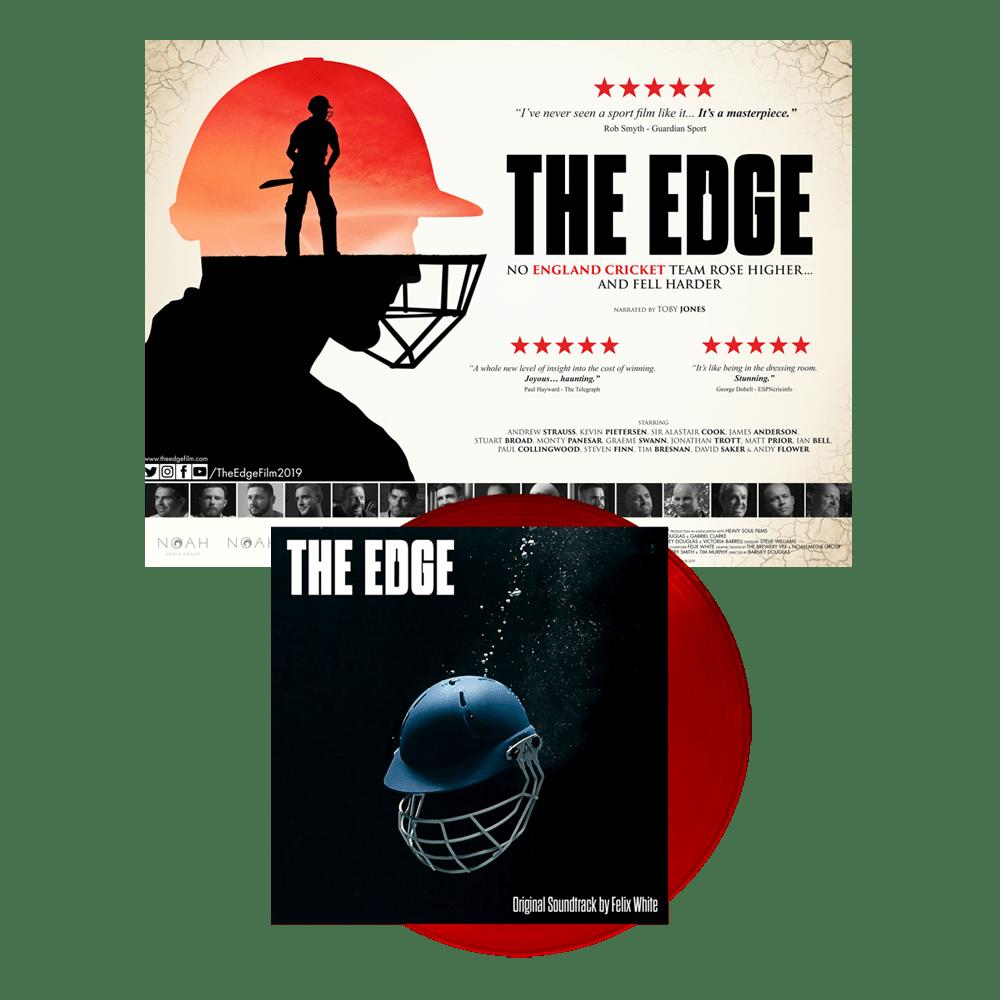 Buy Online Felix White - The Edge OST Cricket Ball Red Vinyl (Signed) + Poster