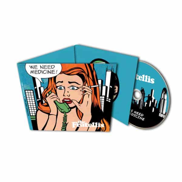 Buy Online The Fratellis - We Need Medicine Deluxe CD DigiPak Album