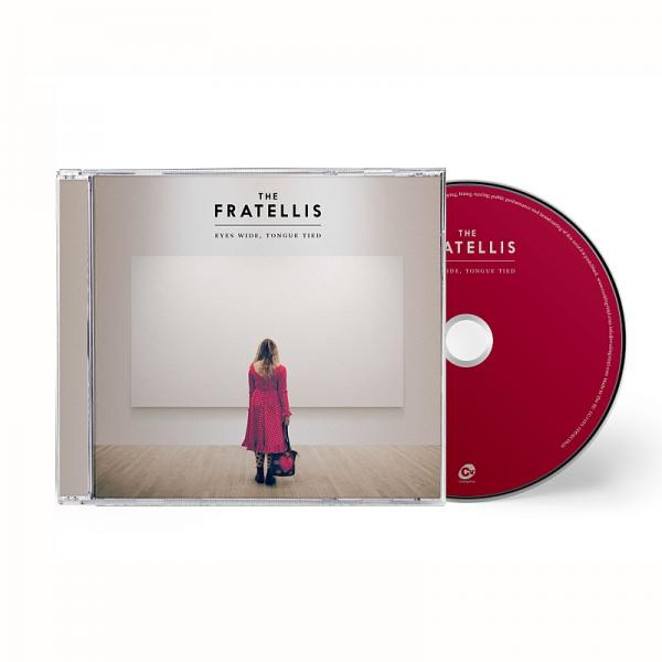 Buy Online The Fratellis - Eyes Wide, Tongue Tied CD Album (Standard) + A6 Signed Print (Ltd Edition)
