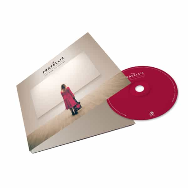 Buy Online The Fratellis - Eyes Wide, Tongue Tied CD Album (Deluxe) (SIGNED)
