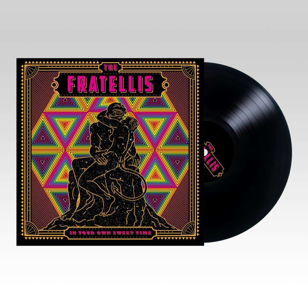 Buy Online The Fratellis -  In Your Own Sweet Time Black Vinyl LP + A6 Signed Print (Ltd Edition)