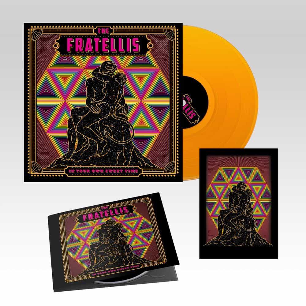 Buy Online The Fratellis - CD + Orange Vinyl (Ltd Edition) + A6 Print (Ltd Edition)
