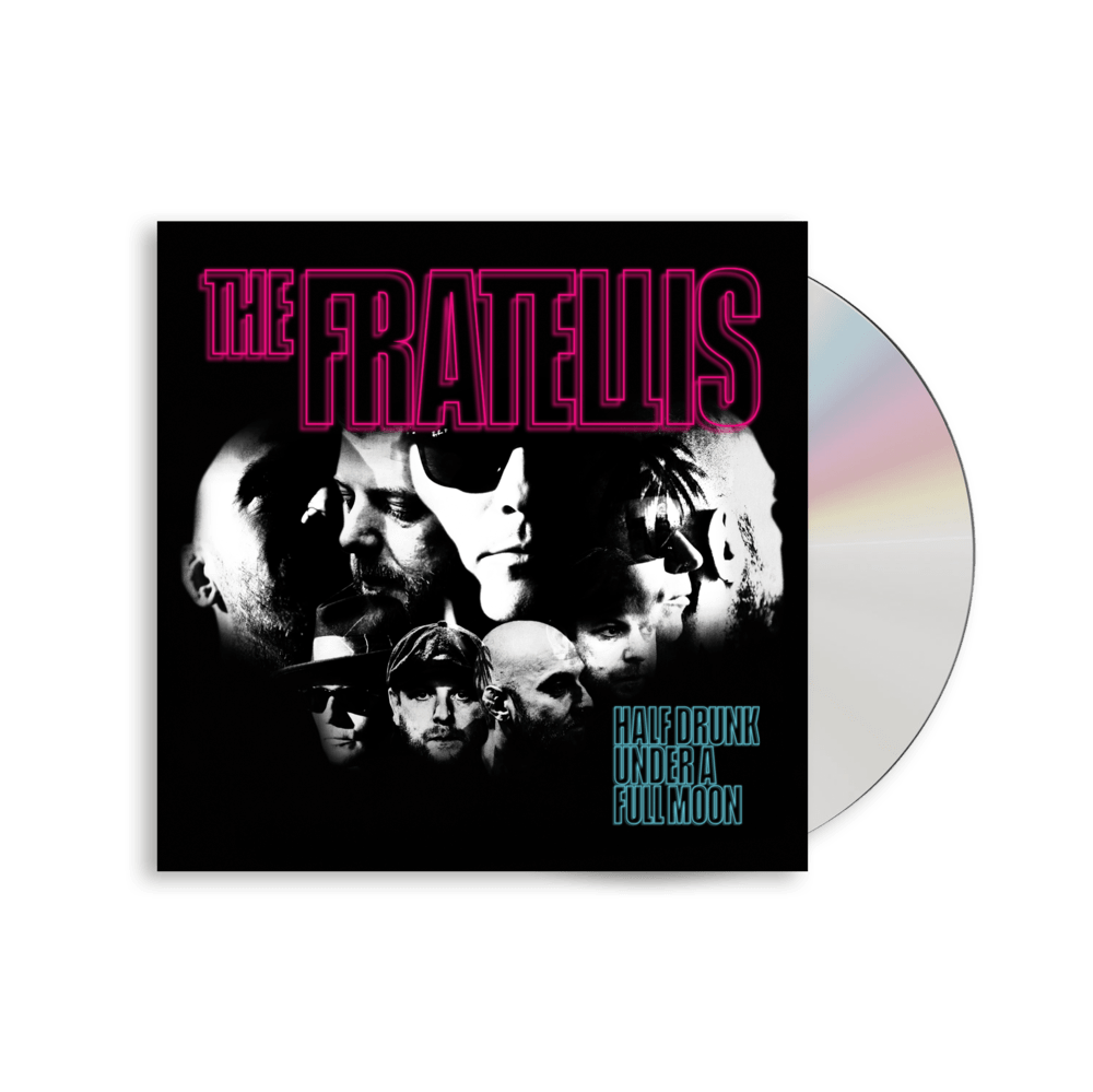 Buy Online The Fratellis - Half Drunk Under A Full Moon (Signed)