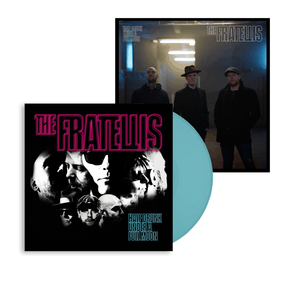 Buy Online The Fratellis - Half Drunk Under A Full Moon Coloured Vinyl (Exclusive) + 12
