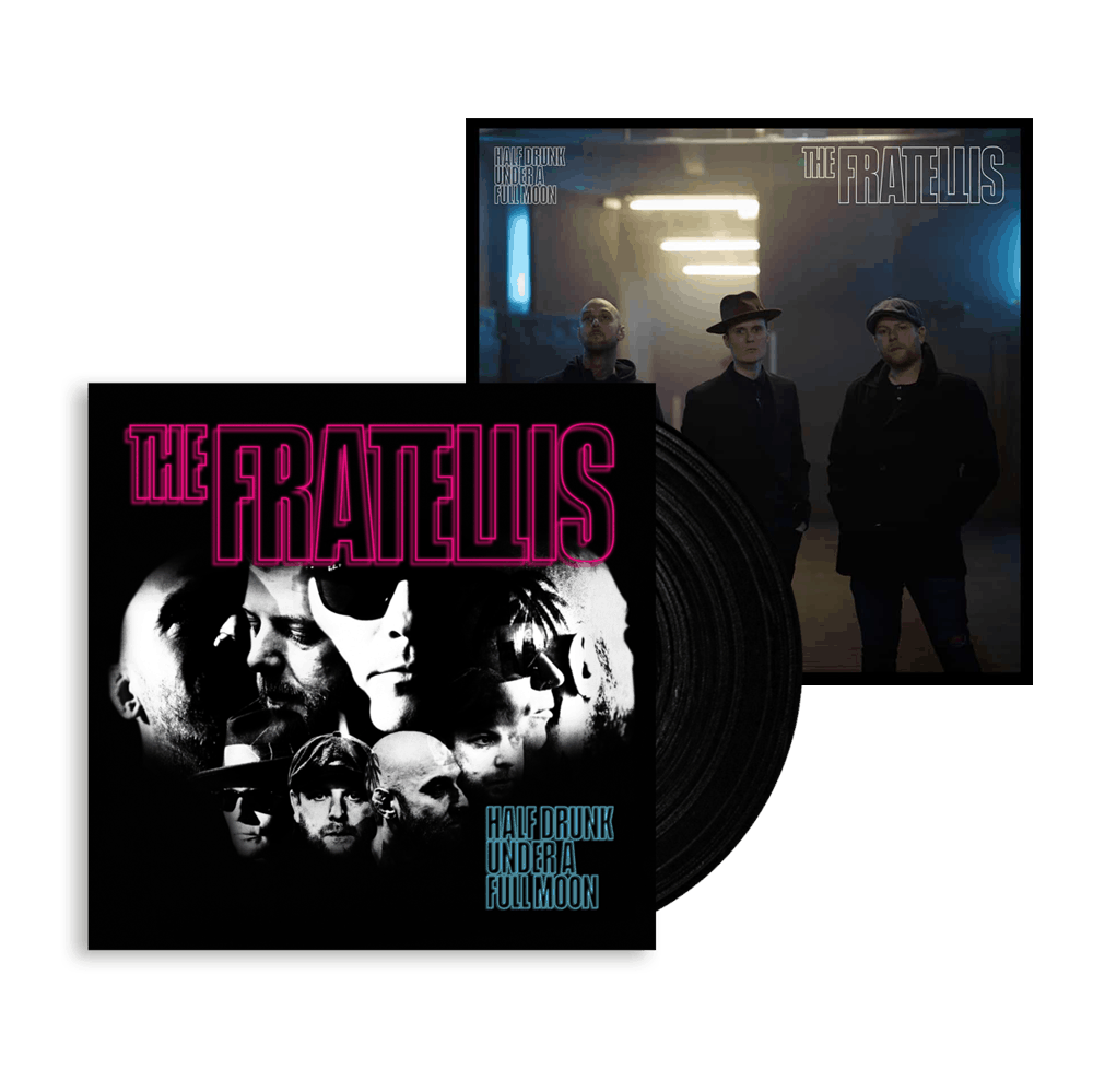 Buy Online The Fratellis - Half Drunk Under A Full Moon Black Vinyl