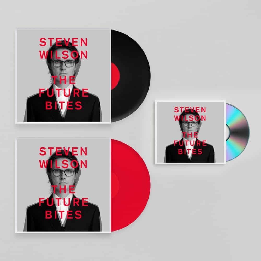 Buy Online Steven Wilson - Steven Wilson x The Future Bites™ CD + Gatefold Black Vinyl + Gatefold Red Vinyl (Ltd Edition)
