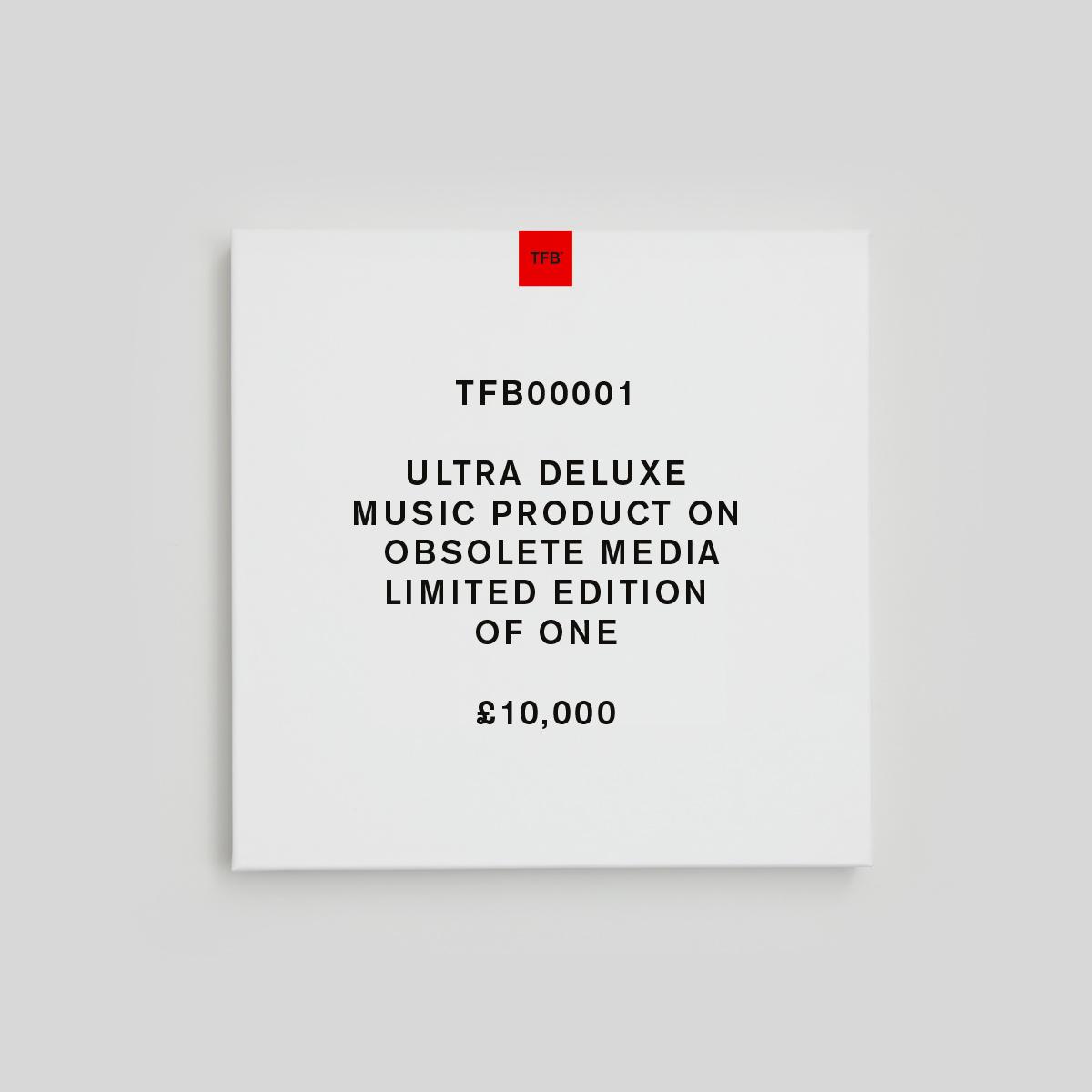 Buy Online Steven Wilson - Steven Wilson x The Future Bites™ Ultra Deluxe Music Product On Obsolete Media