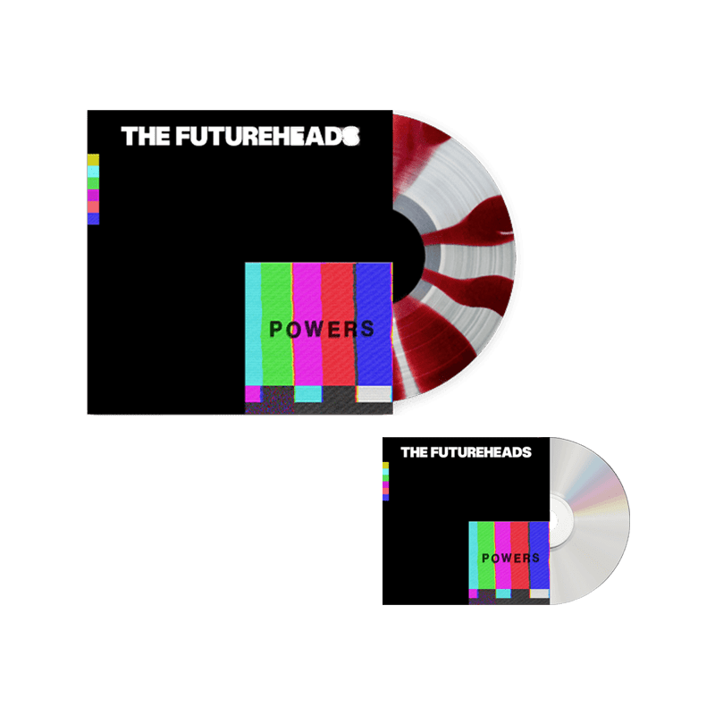 Buy Online The Futureheads - Powers - Red & White Vinyl (Ltd Edition) + CD Album