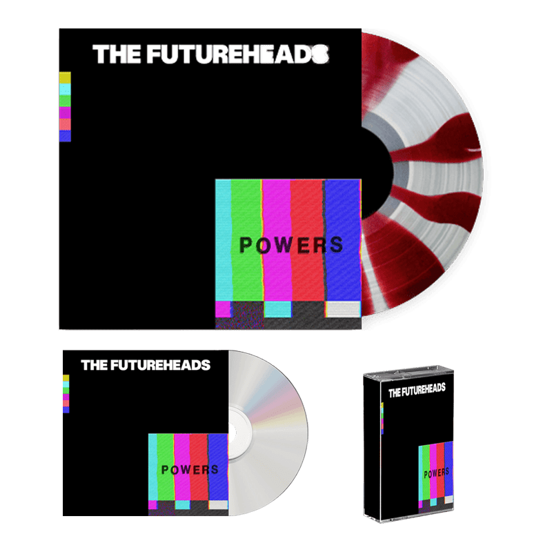 Buy Online The Futureheads - Powers - Red & White Vinyl (Ltd Edition) + CD + Cassette