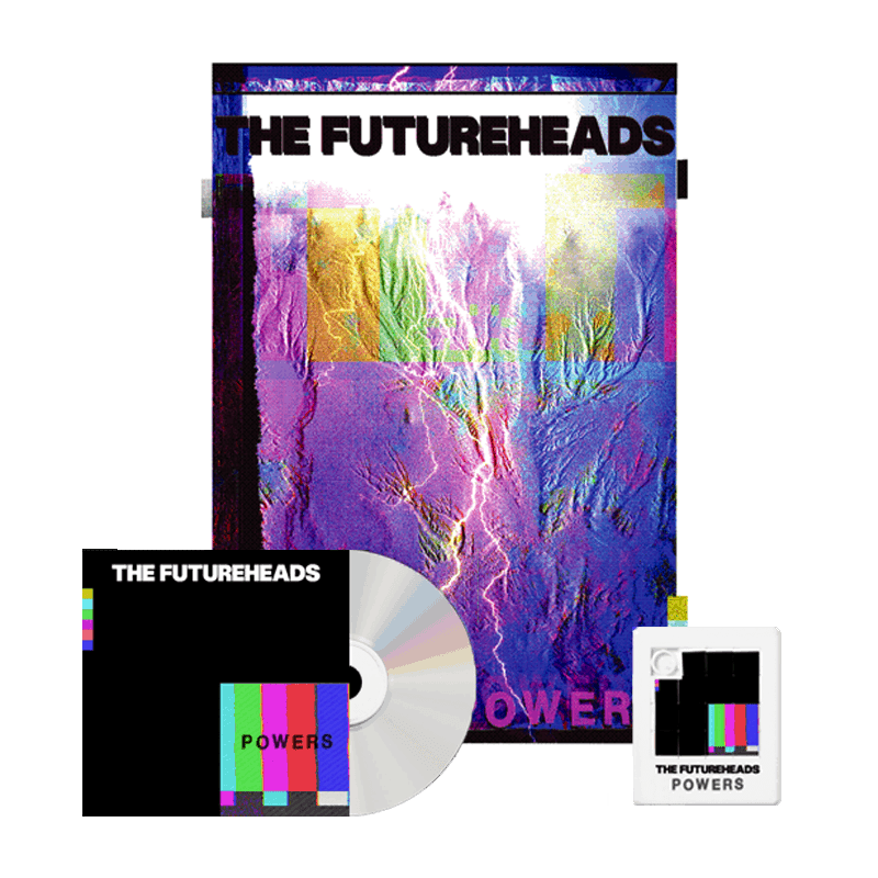 Buy Online The Futureheads - Powers - CD Album + Finger Puzzle + Screen Printed Artwork