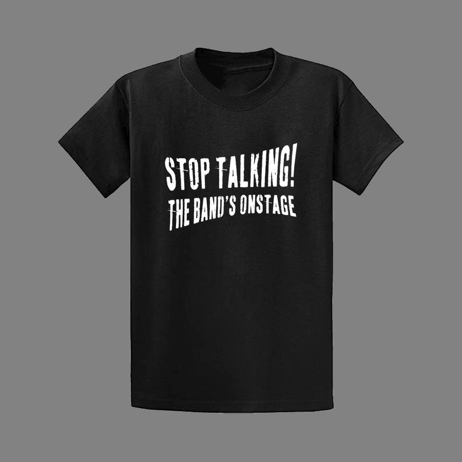 Buy Online The Gig Cartel - Stop Talking T-Shirt