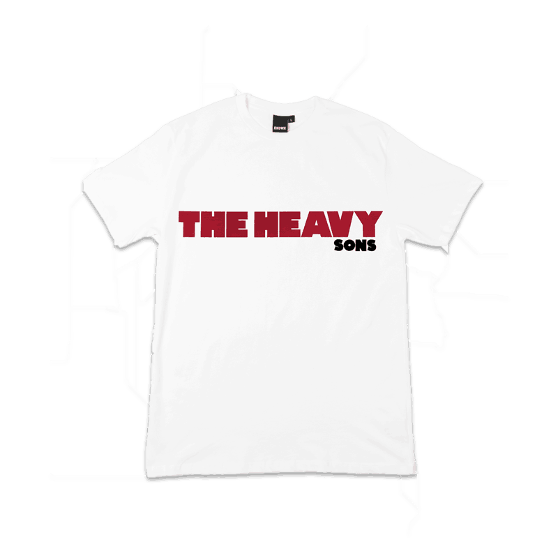 Buy Online The Heavy - Sons White T-Shirt
