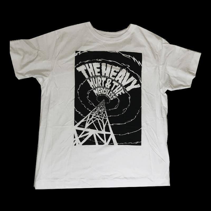Buy Online The Heavy - Hurt & The Merciless White T-Shirt