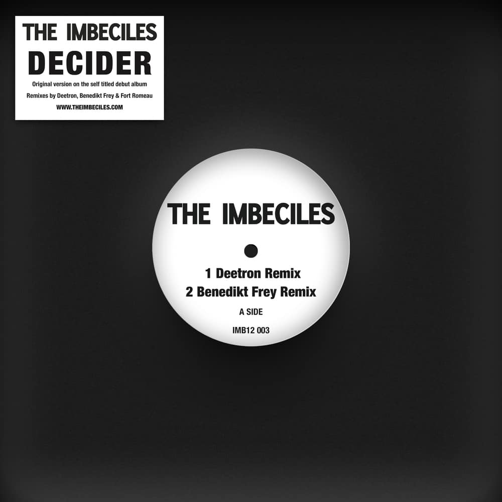 Buy Online The Imbeciles - Decider Remixes 12-Inch Single Vinyl