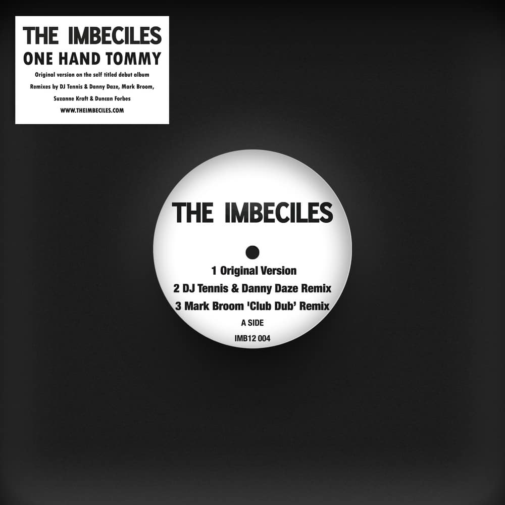Buy Online The Imbeciles - One Hand Tommy 12- Inch Single Vinyl