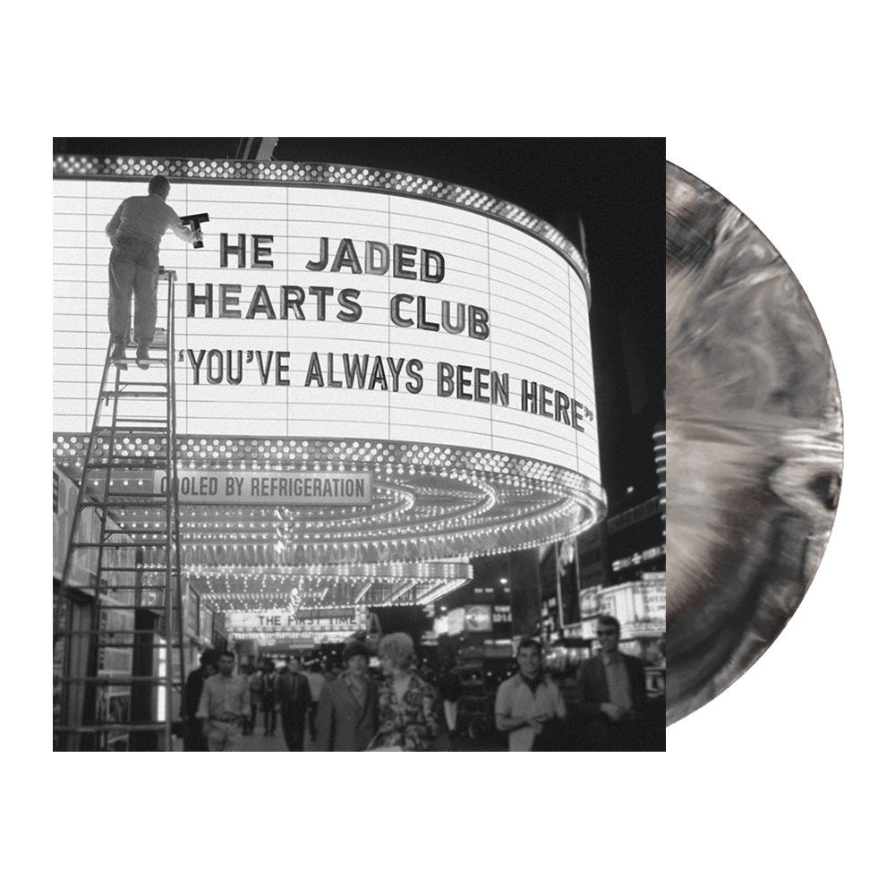 Buy Online The Jaded Hearts Club - You've Always Been Here Marbled Black & White