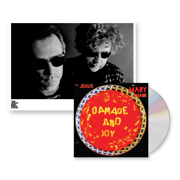 Buy Online The Jesus And Mary Chain - Damage And Joy CD Album + Signed A4 Photograph