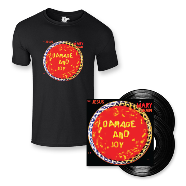 Buy Online The Jesus And Mary Chain - Damage and Joy Double Heavy LP + T-Shirt