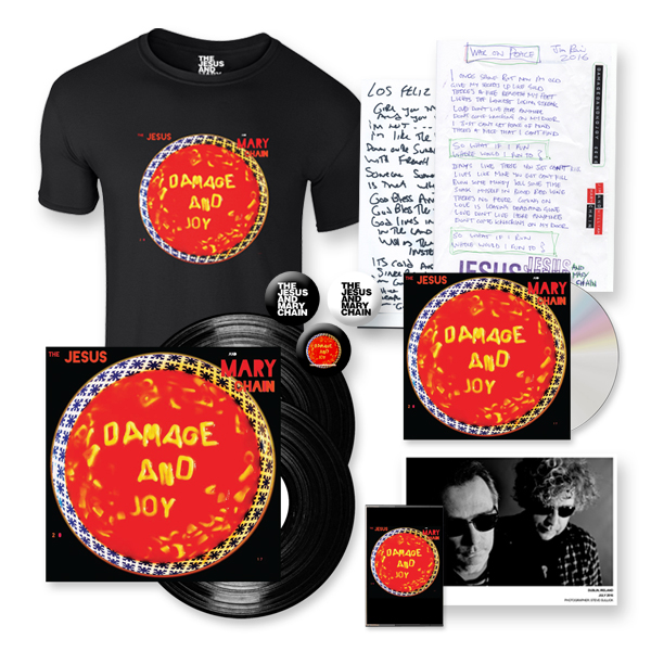 Buy Online The Jesus And Mary Chain - Damage And Joy Deluxe Bundle (Signed)