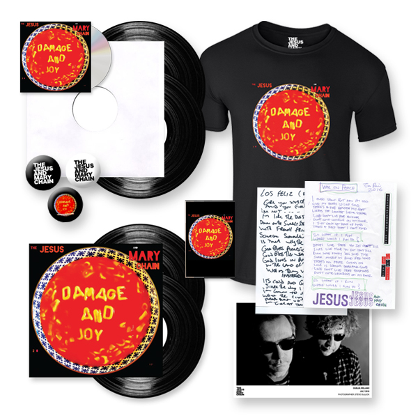 Buy Online The Jesus And Mary Chain - Damage And Joy Super Deluxe Bundle (Signed)