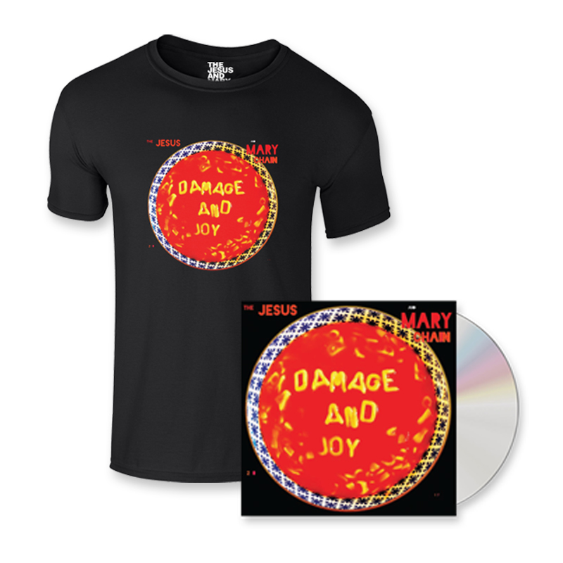 Buy Online The Jesus And Mary Chain - Damage And Joy CD Album + T-Shirt