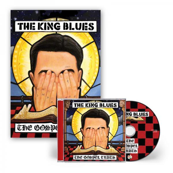 Buy Online The King Blues - The Gospel Truth CD + Signed Art Print