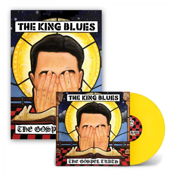 Buy Online The King Blues - The Gospel Truth LP (Exclusive Yellow Vinyl) + Signed Art Print