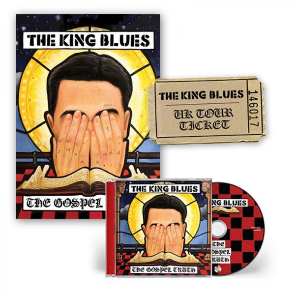 Buy Online The King Blues - The Gospel Truth CD + Signed Art Print + Ticket