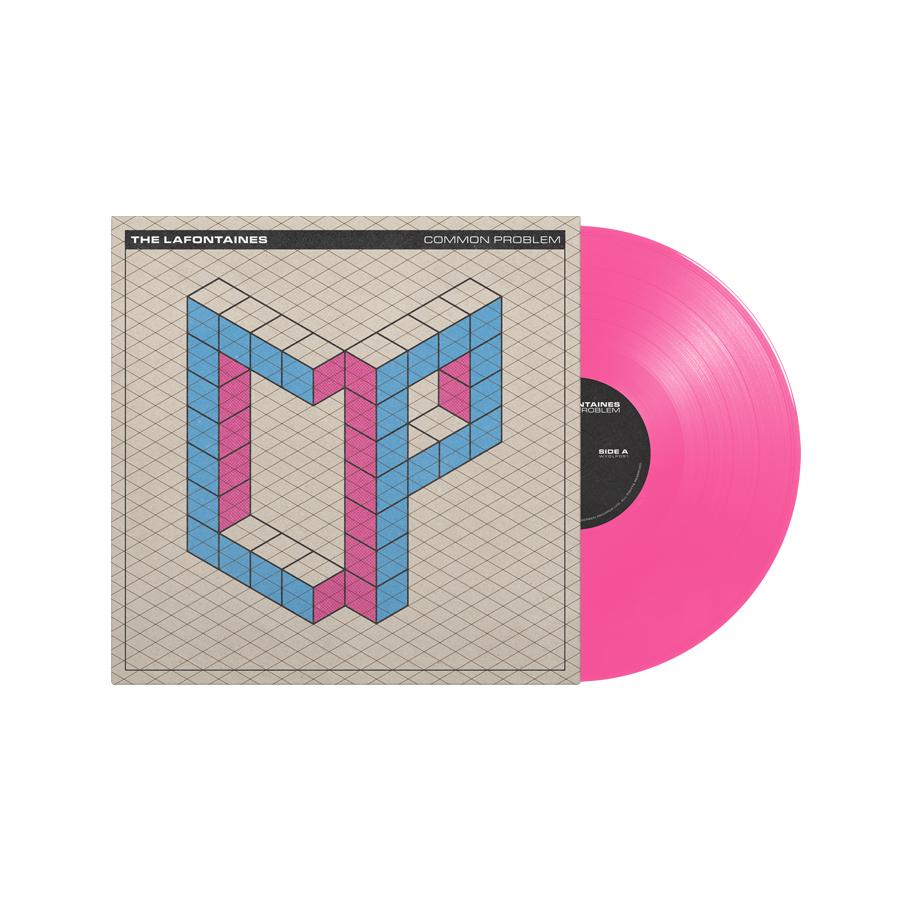 Buy Online The LaFontaines - Common Problem Pink Vinyl LP