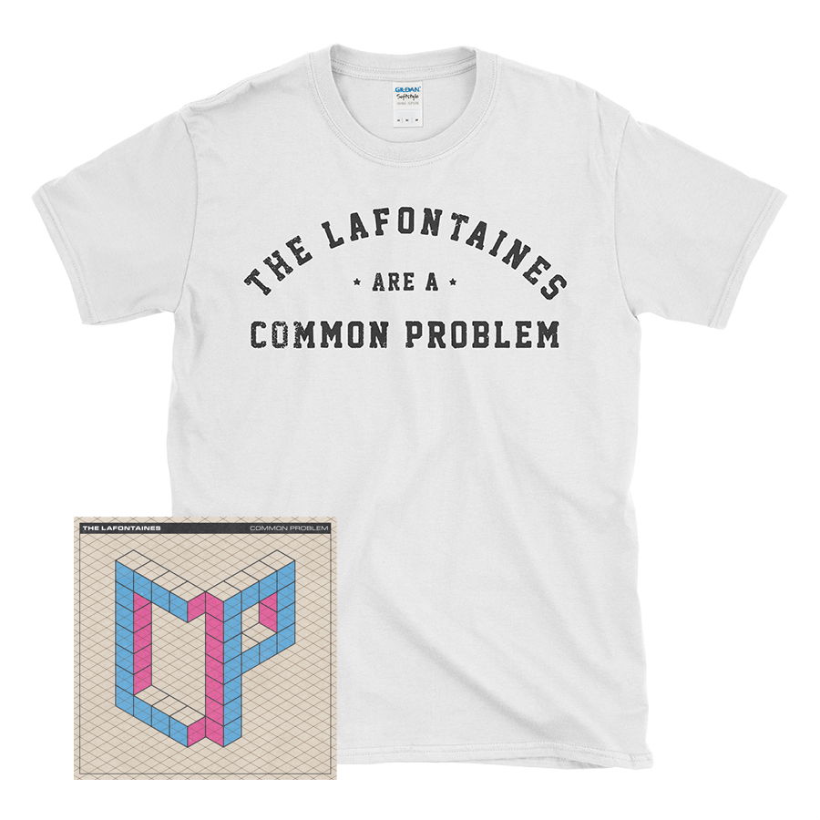 Buy Online The Lafontaines - Common Problem CD + T-Shirt