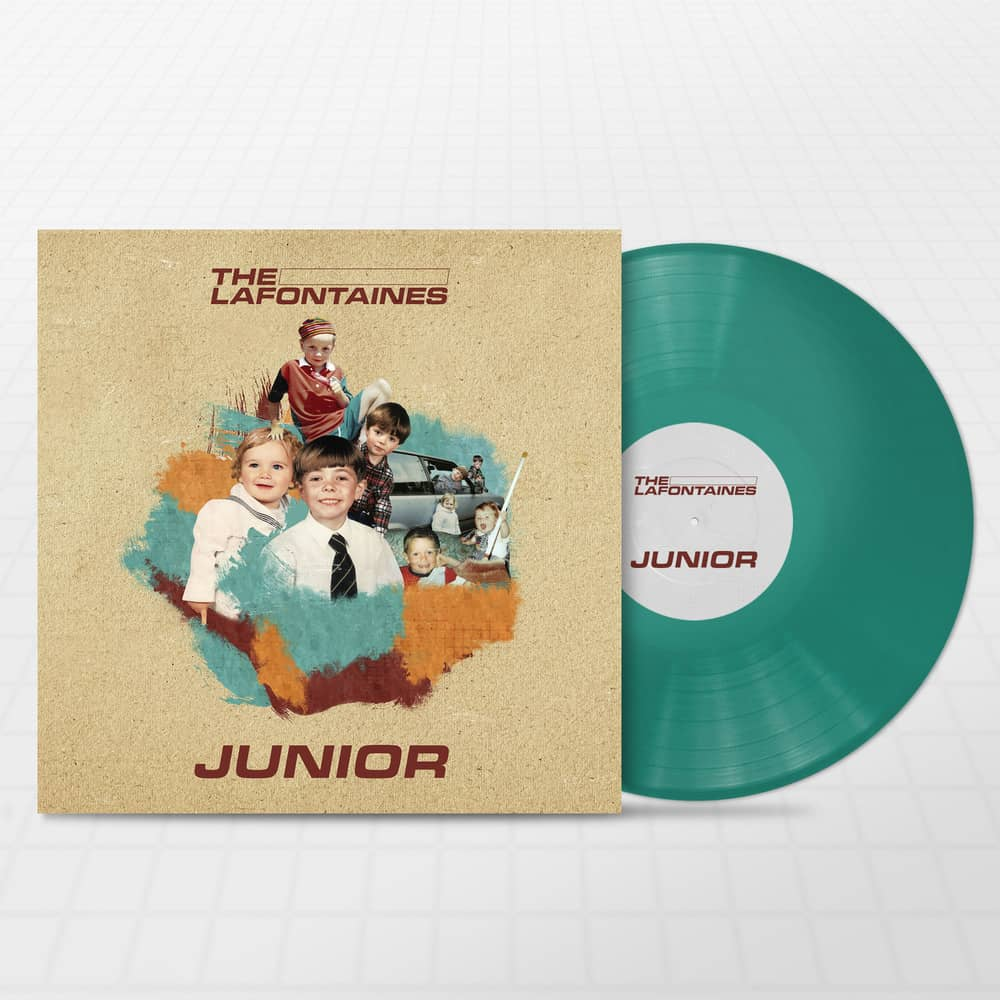Buy Online The LaFontaines - Junior Aqua (Signed)