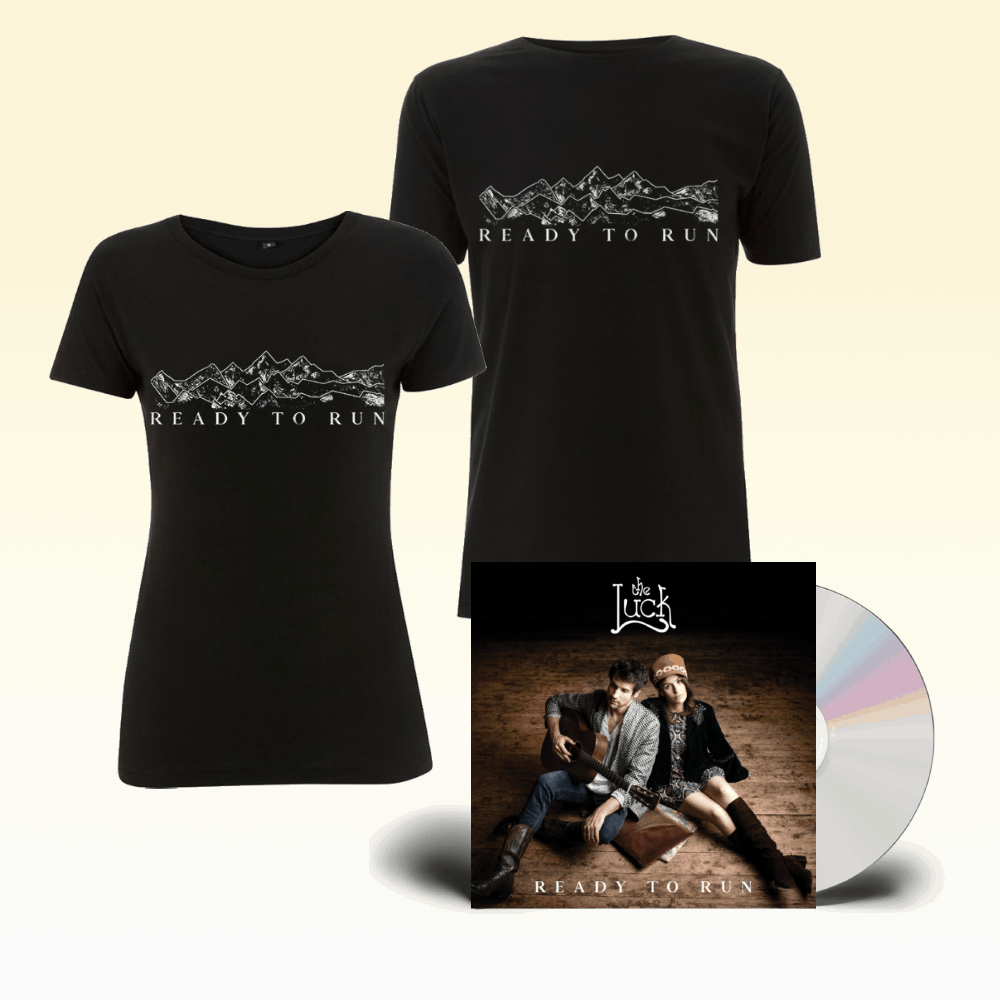 Buy Online The Luck - Ready To Run CD + Black T-Shirt