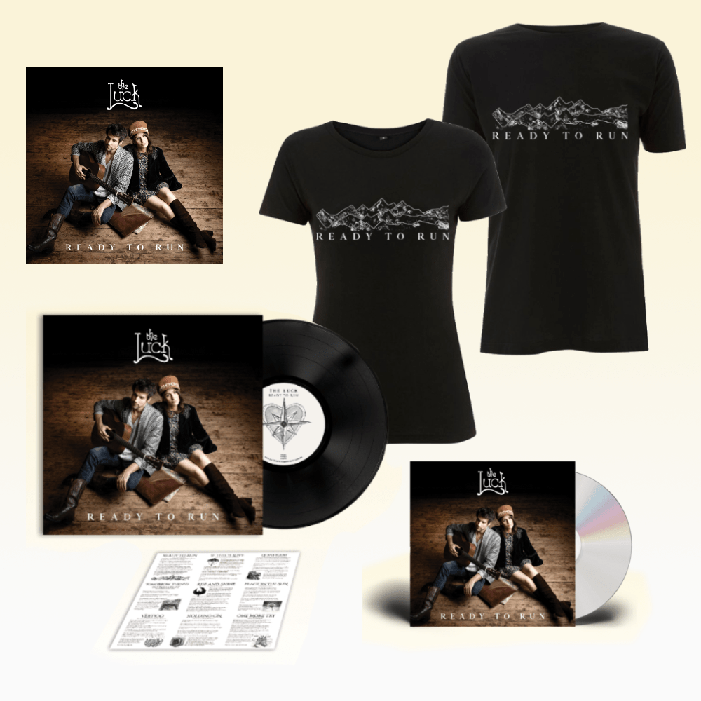Buy Online The Luck - Ready To Run CD + Vinyl + Black T-Shirt + Deluxe Download