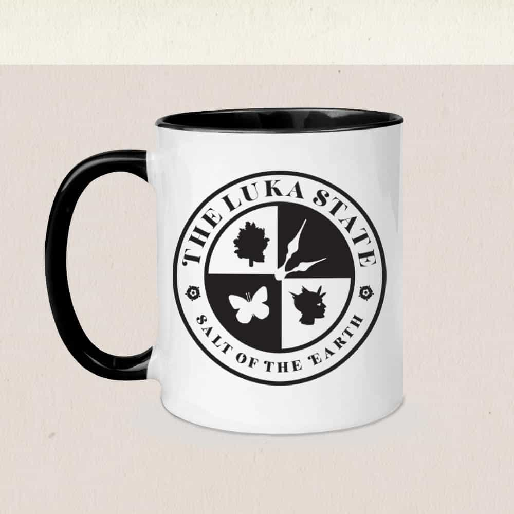 Buy Online The Luka State - Logo Classic Mug