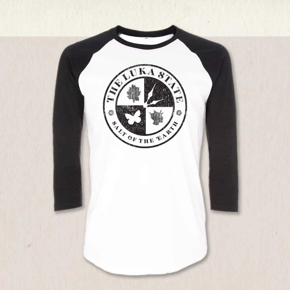 Buy Online The Luka State - Unisex Baseball T-Shirt