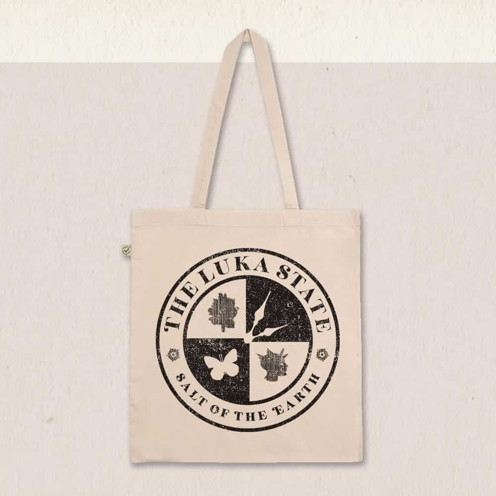 Buy Online The Luka State - Classic Logo Tote