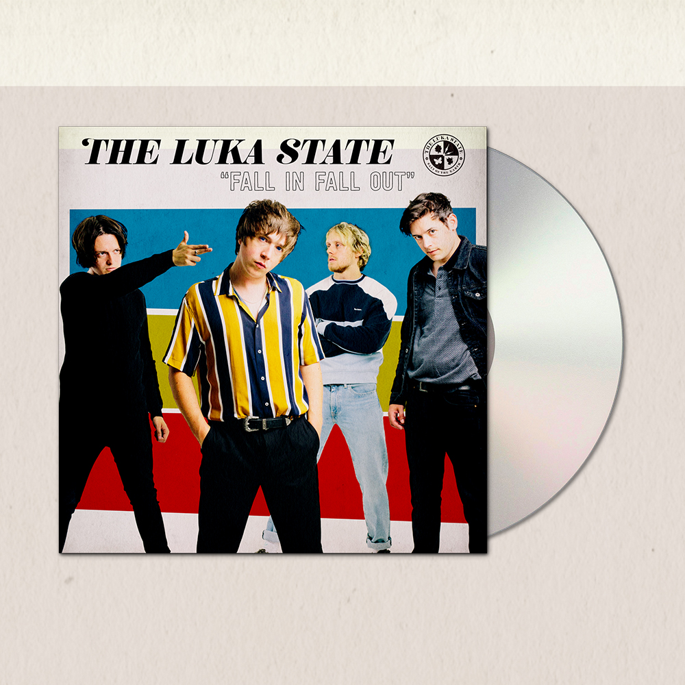 Buy Online The Luka State - Fall In Fall Out Digipack CD (Signed)