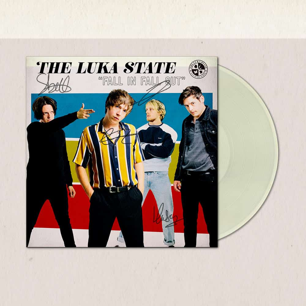 Buy Online The Luka State - Fall In Fall Out Cream Vinyl (Signed)