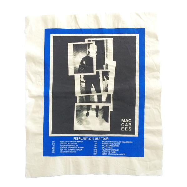 Buy Online The Maccabees - Feb 2013 USA Tour Fabric Poster
