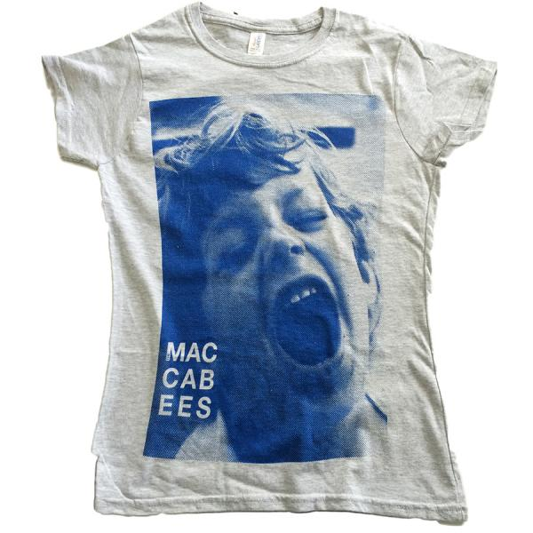 Buy Online The Maccabees - Women's Grey and Navy Felix T-shirt