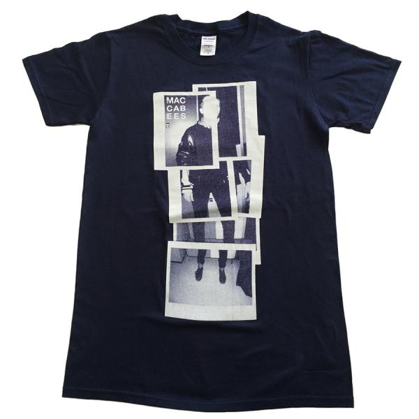 Buy Online The Maccabees - Womens Navy And Blue Polaroid T-Shirt inc. FREE 2017 Tour Programme