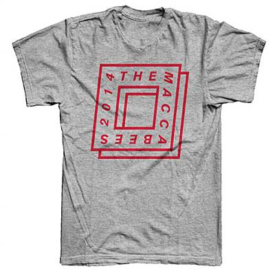 Buy Online The Maccabees - 2014 Grey T-Shirt