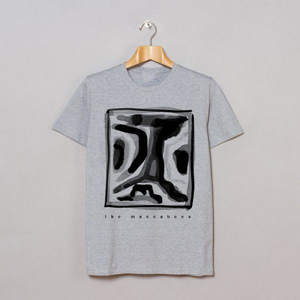 Buy Online The Maccabees - Square Grey T-Shirt