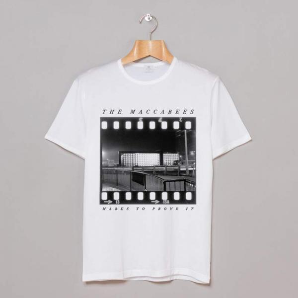 Buy Online The Maccabees - Negative T-Shirt White