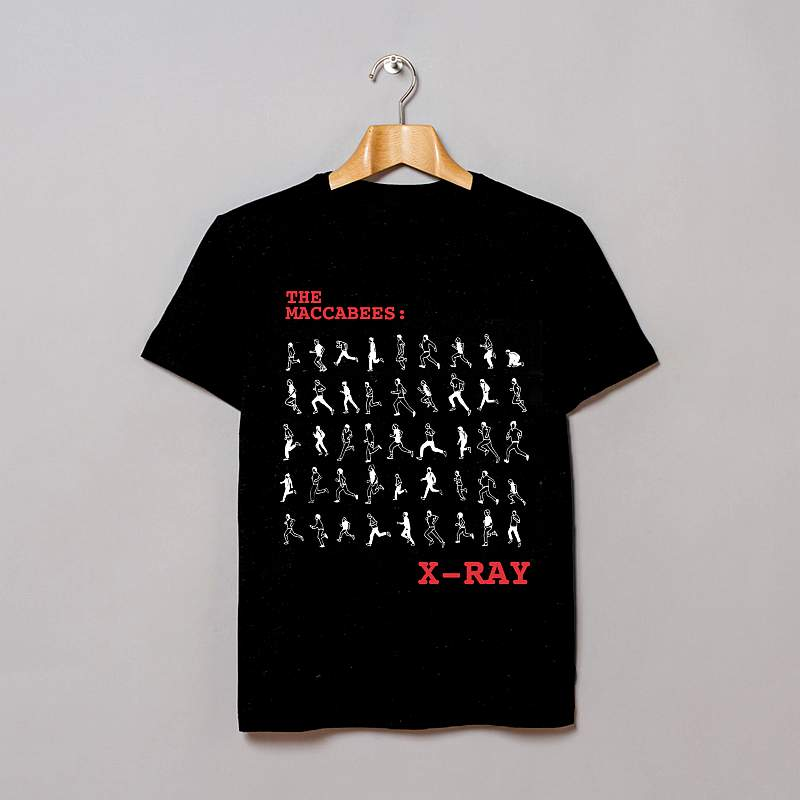 Buy Online The Maccabees - 10th Anniversary Xray T-shirt