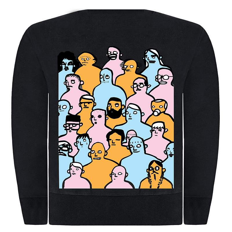 Buy Online The Maccabees - Colour It In 10th Anniversary Sweatshirt