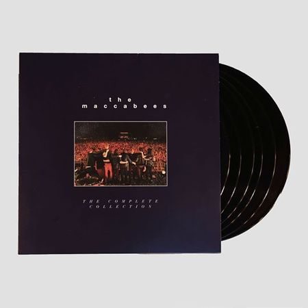 Buy Online The Maccabees - The Complete Collection  6LP + DVD Book Set (Ltd Edition)