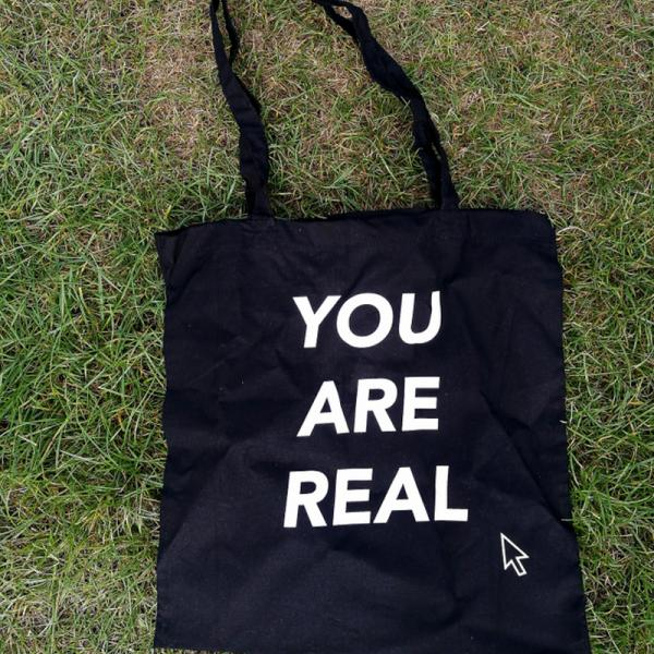 Buy Online Theme Park - You Are Real Tote Bag